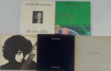 5x Vinyl LP Bundle Sammlung Angelo Branduardi - Highdown Fair / Concerto / ...