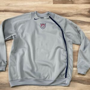 Nike US USA Soccer Total 90 Pulllover Pul Men XL Long Sleeve Vented