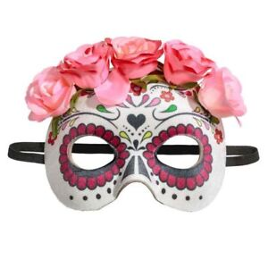 H&M Skeleton Day of the Dead MASQUERADE Halloween fancy dress costume Mask