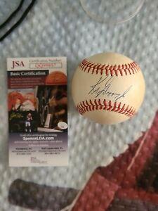 Ken Griffey Jr. Authentic SIGNED Autographed OMLB BASEBALL JSA COA