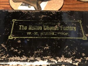 Vtg. Holton Wisconsin Cheese Factory Locking Cash Box  Advertising , History