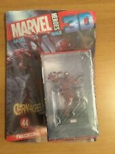 MARVEL HEROES 3D nr 44 CARNAGE Statua Fascicolo Poster NUOVO INTROVABILE