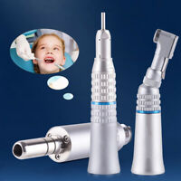 Dental Inner Water Spray Low Speed Handpiece Contra Angle E-type Air Motor 4Hole