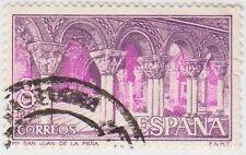(SPB154) 1973 SPAIN 8p purple & blue ow2218