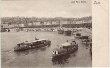 CPA -69-  LYON - Quai de Saône ( Les mouches).