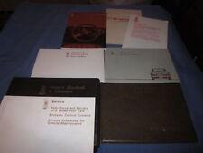 1979 ROLLS ROYCE SILVER WRAITH II OWNERS MANUAL SET