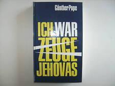 ICH WAR ZEUGE JEHOVAS GÜNTHER PAPE