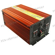 Peak 6KW 3KW DC12V to AC 220V Off Grid Power Inverter for Car Boat Motorhome