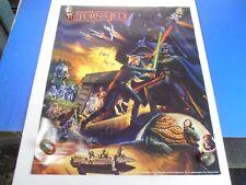 VINTAGE 1983 STAR WARS RETURN OF THE JEDI *HI-C COCA COLA 18x22 POSTER* NOS