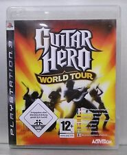 GUITAR HERO WORLD TOUR - PLAYSTATION 3 - PAL - COMPLETO