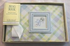 """Plaid 4 3/4X7"""" Photo Album BRAG BOOK Holds 10 Double-Sided 4X6 Photo Pages"""