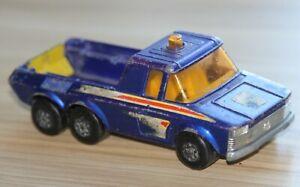 Vintage Lesney Matchbox Super Kings K-6/11 Team Honda Pick Up Truck 1974