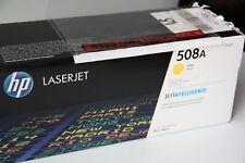 Genuine New HP Colour Laserjet CF361A /508A Yellow Laser Printer Toner Cartridge