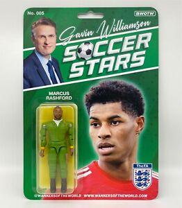 Gavin Williamson Soccer Stars. Marcus Rashford Action Figure