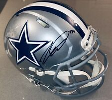 CeeDee Lamb Dallas Cowboys Autograph Riddell Speed Authentic F/S Helmet FANATICS
