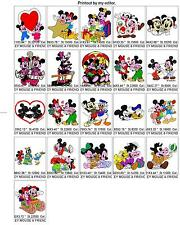 10,600 DISNEY, ANIMAL, BABY CHILD DESIGN COLLECTION BROTHER EMBROIDERY MACHINE