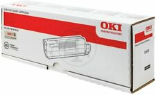1 x Oki Black Original OEM Toner Cartridge C600 Series, C612 - 8000 Pages