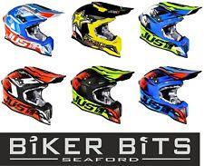 JUST1 J12 Completo Fibra de Carbono Ligero Motocross MX Todoterreno Moto Casco