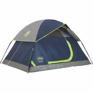 Coleman Tent 7X5 Sundome 2P Navy Grey C004 2000034546