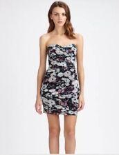BCBG Winnie Strapless Floral Dress