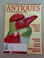 Antiques & Collecting Magazine June 2010 Edouard-Marcel Sandoz Ceramics Bauer