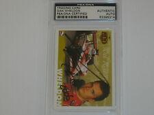 DAN WHELDON Signed INDY 500 IRL CARD Autograph PSA/DNA PSA AUTO RARE 83395314