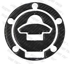 3D Carbon Fiber Gas Cap Tank Cover Sticker For DUCATI 748/748S/748R /748SP/848