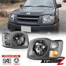 Chrome [Factory Style] Headlight Lamps Replacement For 2002-2004 Nissan Xterra