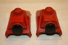 TWO VINTAGE LIONEL #260 RED BUMPERS