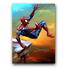 ACEO 2015 SPIDER-MAN 14/25 Limited Print Art Sketch Card Artist Signed
