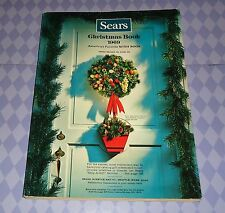 1969 SEARS CHRISTMAS WISH BOOK WITH MAILER SLEEVE EXCELLENT NO RESERVE !!