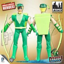 JUSTICE LEAGUE OF AMERICA;  GREEN ARROW; 8 INCH FIGURE NEW IN POLYBAG