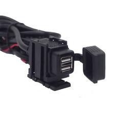 Waterproof Dual USB Phone Charger For Honda VTX 1300 1800 TYPE C R S N F T RETRO