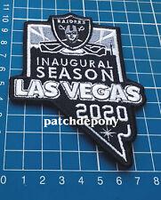 Oakland Raiders Inaugural Seasons 2020 Las Vegas NFL Football USA Sports Patch