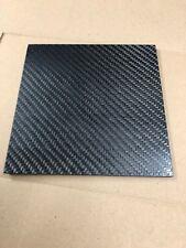 Plaque Carbone 200 mm x 200 mm épaisseur 2 mm