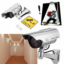 2SETS Solar Power Fake Dummy Home Security CCTV Camera With Sensor Flash Lights