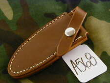 RANDALL KNIFE KNIVES SHEATH FOR NON-CATALOG FIREMAN BROWN, CAUTION DON'T  #A568