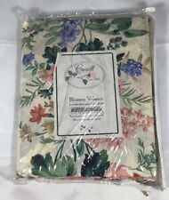"Croscill Country Manor Blouson Valance NIP 88"" X 15""  floral  (bin B)"