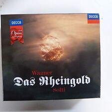 CD WAGNER Das Rheingold, George Solti, Wiener Phil, Decca, 2 CDs plus booklet