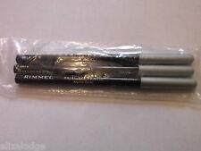Rimmel Soft Kohl Kajal Eye Pencil 067 Silver x 3