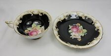 RARE VINTAGE PARAGON PORCELAIN CUP AND SAUCER WITH ROSES