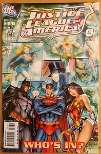 JUSTICE LEAGUE #0b (2006 DC Comics) ~ VF/NM Book