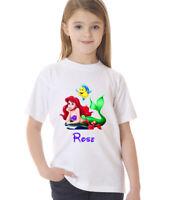 Little Mermaid Personalised Children's T-Shirt Kids tshirt Including Name