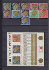 PANAMA 1964, OLYMPICS MEXICO, Mi 767-777, BLOCK 28A, 28B, MNH