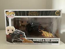 Daenerys & Fiery Drogon Game Of Thrones Funko Pop 68
