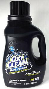 Oxi Clean Dark Protect Liquid Laundry Booster, Anti Fade Technology (50 fl oz)