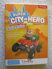 PC CD Rom Spiel Super City Hero: Maxis Mission (PC, 2006, DVD-Box)