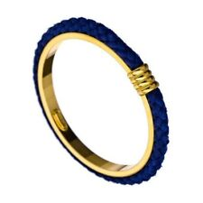 Ben-Amun Blue Cord Gold Plated Nautical Bangle $180