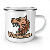 Wolverine Beast NEW Enamel Tea Mug 10 oz | Wellcoda