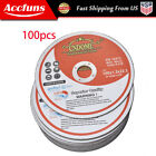 """6""""x.045""""x7/8"""" Cut-off Wheel - Metal & Stainless Steel Cutting Discs 100 Pack"""